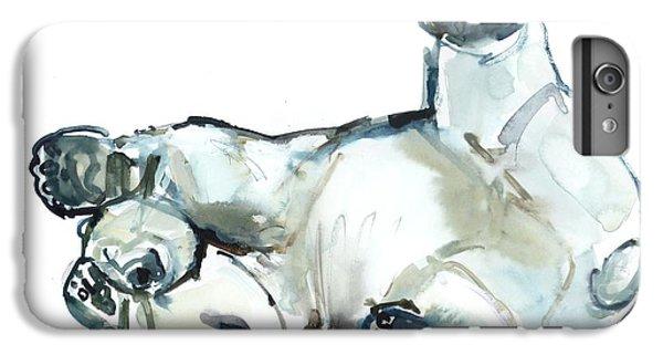 Snow Rub IPhone 7 Plus Case by Mark Adlington