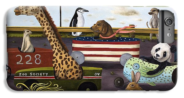 Soap Box Derby IPhone 7 Plus Case by Leah Saulnier The Painting Maniac