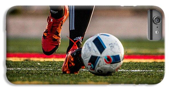 Soccer IPhone 7 Plus Case by Hyuntae Kim