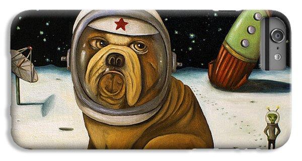 Space Crash IPhone 7 Plus Case by Leah Saulnier The Painting Maniac
