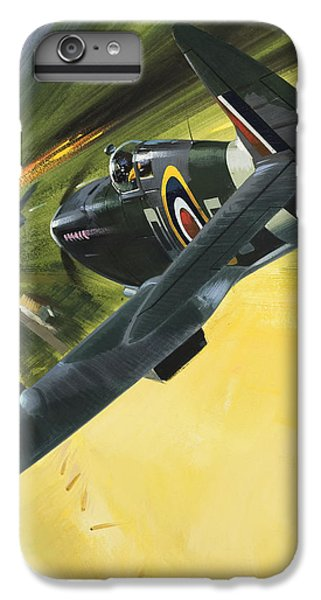 Spitfire And Doodle Bug IPhone 7 Plus Case by Wilf Hardy