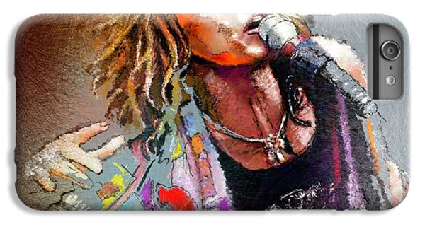 Steven Tyler 02  Aerosmith IPhone 7 Plus Case by Miki De Goodaboom