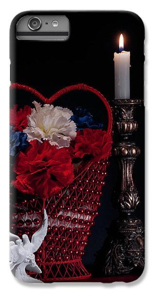 Still Life With Lovebirds IPhone 7 Plus Case by Tom Mc Nemar