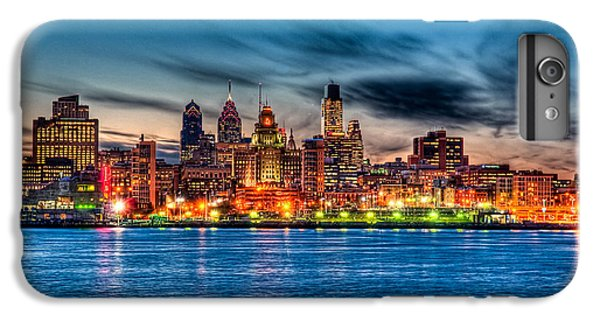 Sunset Over Philadelphia IPhone 7 Plus Case by Louis Dallara