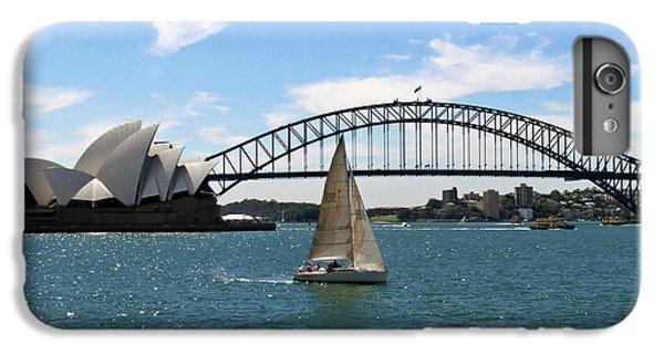 Sydney Harbour No. 1 IPhone 7 Plus Case by Sandy Taylor