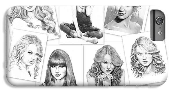 Taylor Swift Collage IPhone 7 Plus Case by Murphy Elliott
