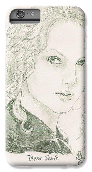 Taylor Swift IPhone 7 Plus Case by Renee Kilburn