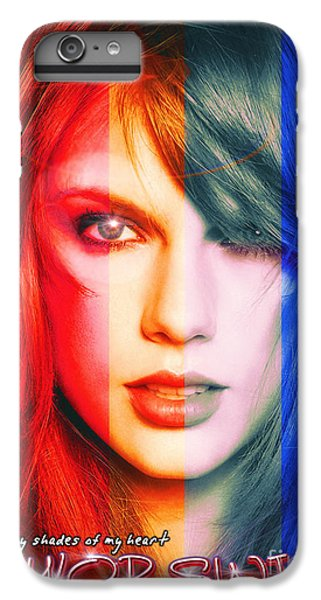 Taylor Swift - Sparks Alt Version IPhone 7 Plus Case by Robert Radmore