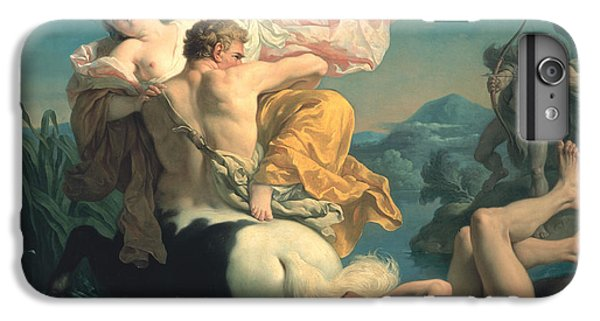 The Abduction Of Deianeira By The Centaur Nessus IPhone 7 Plus Case by Louis Jean Francois Lagrenee