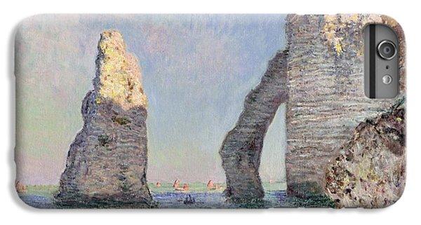 The Cliffs At Etretat IPhone 7 Plus Case by Claude Monet