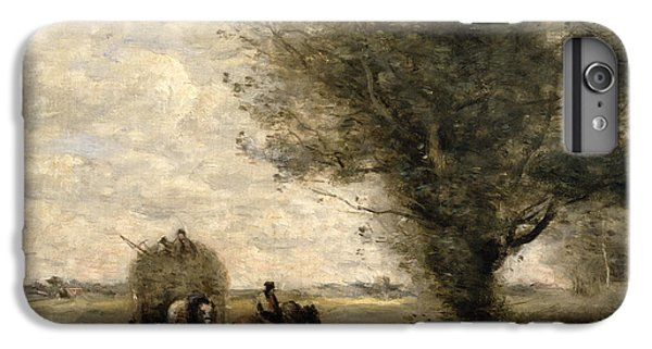 The Haycart IPhone 7 Plus Case by Jean Baptiste Camille Corot
