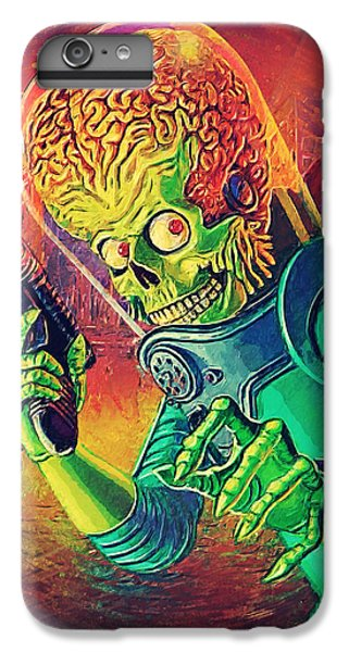 The Martian - Mars Attacks IPhone 7 Plus Case by Taylan Soyturk