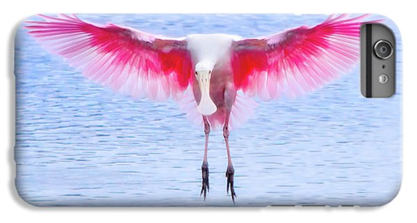 The Pink Angel IPhone 7 Plus Case by Mark Andrew Thomas