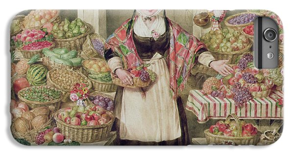 The Vegetable Stall  IPhone 7 Plus Case by Thomas Frank Heaphy