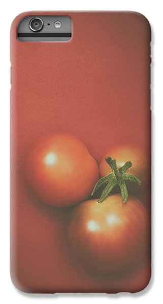 Three Cherry Tomatoes IPhone 7 Plus Case by Scott Norris