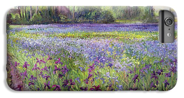 Trackway Past The Iris Field IPhone 7 Plus Case by Timothy Easton