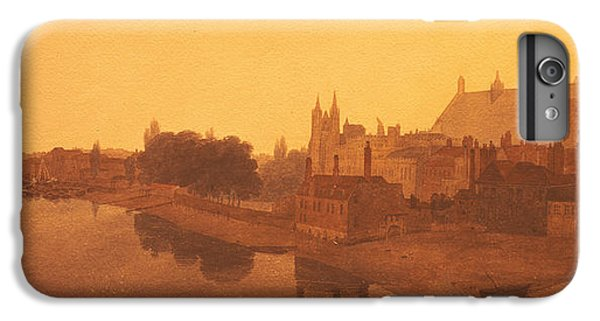 Westminster Abbey  IPhone 7 Plus Case by Peter de Wint