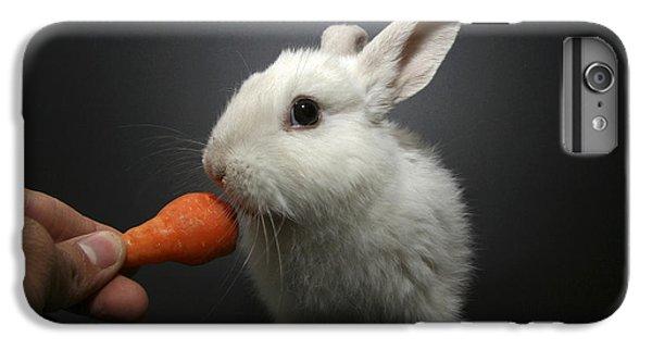White Rabbit  IPhone 7 Plus Case by Yedidya yos mizrachi