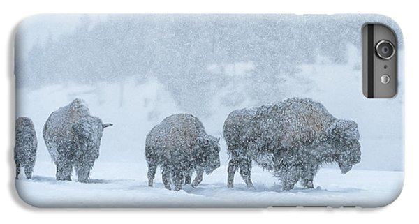 Winter's Burden IPhone 7 Plus Case by Sandra Bronstein
