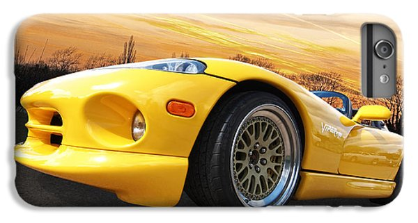Yellow Viper Rt10 IPhone 7 Plus Case by Gill Billington