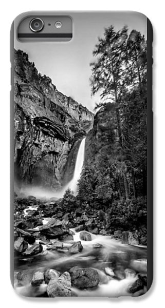 Yosemite Waterfall Bw IPhone 7 Plus Case by Az Jackson