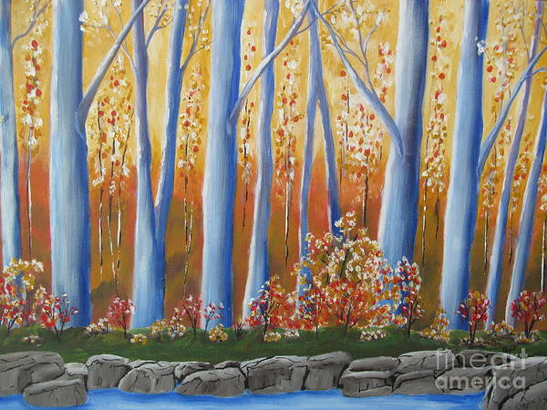 Beverly Livingstone - Autumn Reflections