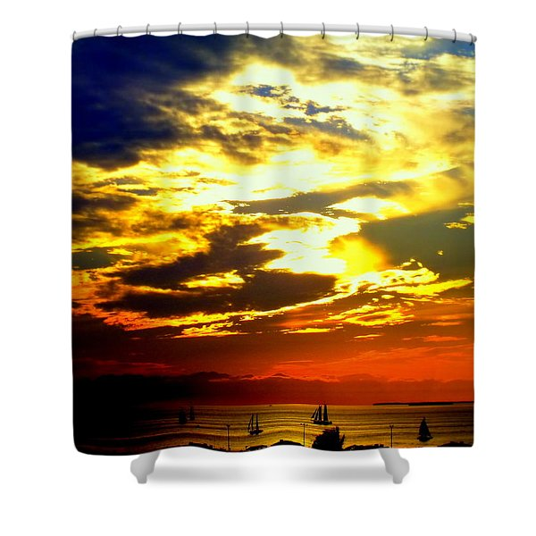 IMAGINE Shower Curtain by KAREN WILES