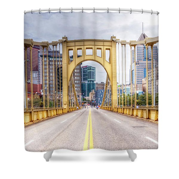 0305  Pittsburgh 10 Shower Curtain by Steve Sturgill