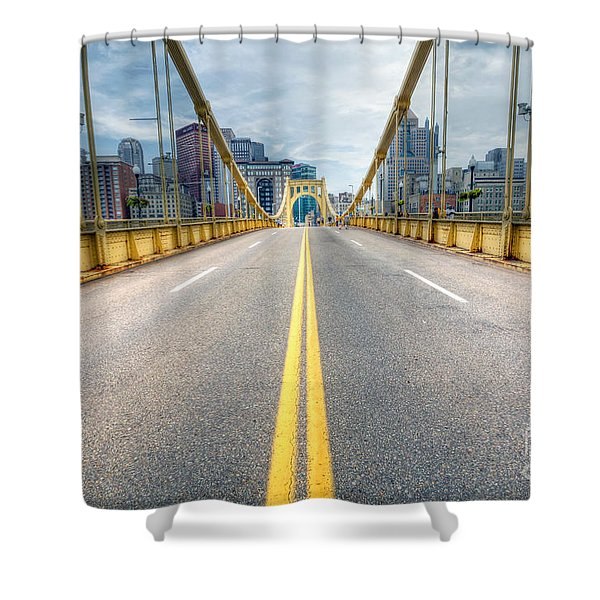 0306 Pittsburgh 9 Shower Curtain by Steve Sturgill