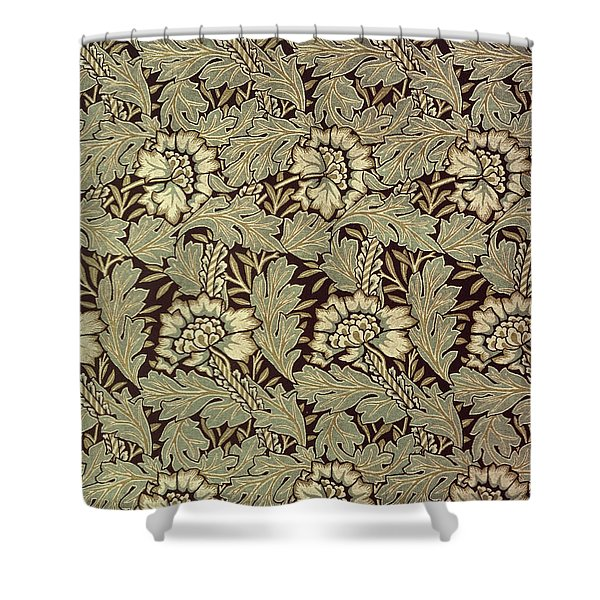 Anemone design Shower Curtain by William Morris