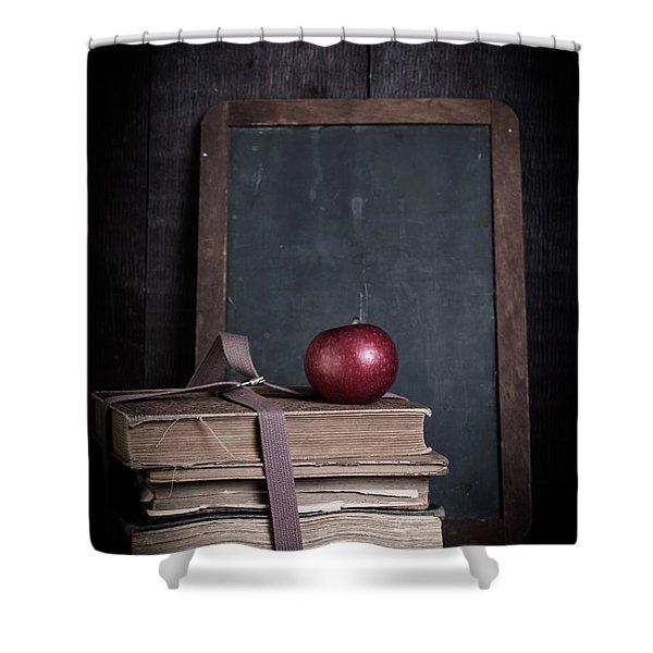 Back to School Shower Curtain by Edward Fielding