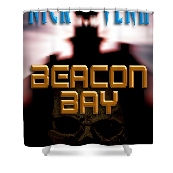Beacon Bay Shower Curtain by Mike Nellums