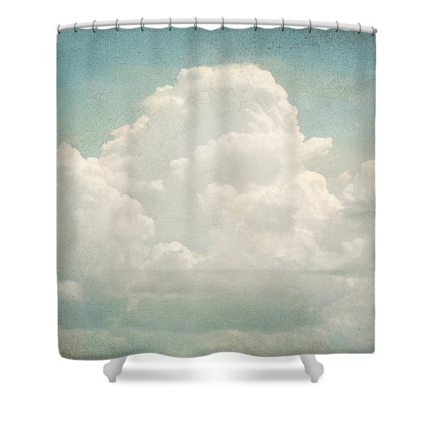 Cloud Series 3 Of 6 Shower Curtain by Brett Pfister