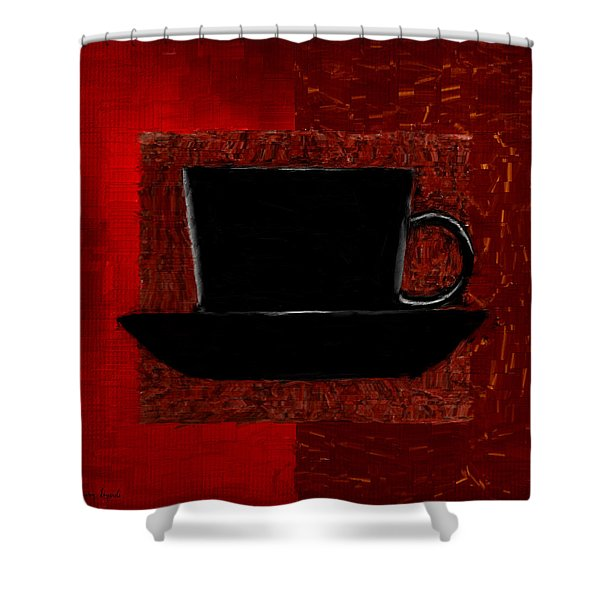Coffee Passion Shower Curtain by Lourry Legarde