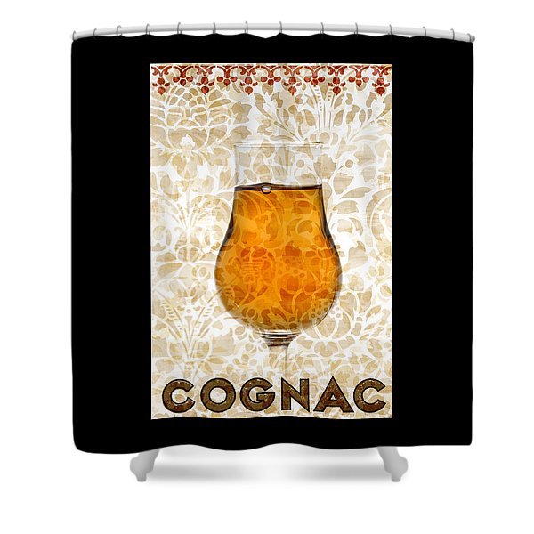 Cognac Shower Curtain by Frank Tschakert