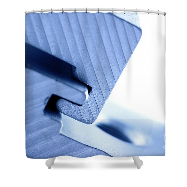 Connecting tools Shower Curtain by Michal Bednarek