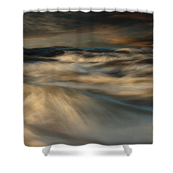 First Light Shower Curtain by Bob Orsillo