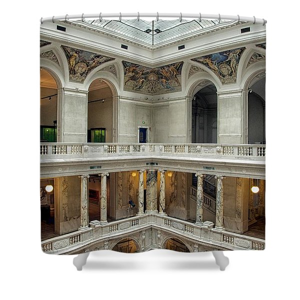 Hofburg Palace Shower Curtain by Mountain Dreams