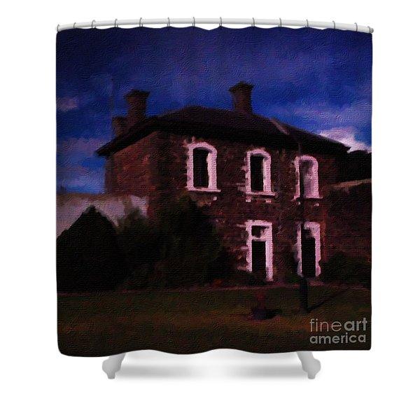 J Ward Ararat Shower Curtain by Blair Stuart