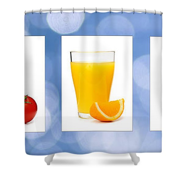 Juices Shower Curtain by Elena Elisseeva
