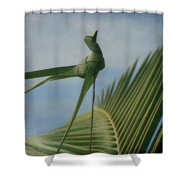 Keanae Shower Curtain by Sharon Mau
