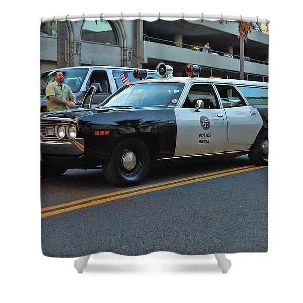 1-L-20 Shower Curtain by Tommy Anderson