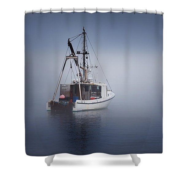 Lost Shower Curtain by Bill  Wakeley