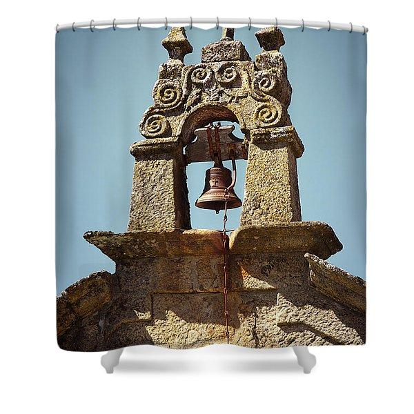 Medieval Campanile Shower Curtain by Carlos Caetano