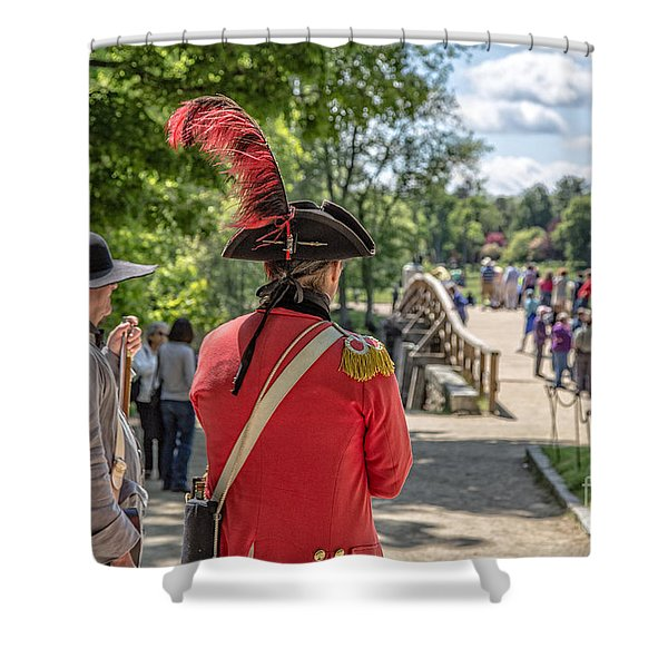 MINUTE MAN NATIONAL HISTORICAL PARK Shower Curtain by Edward Fielding