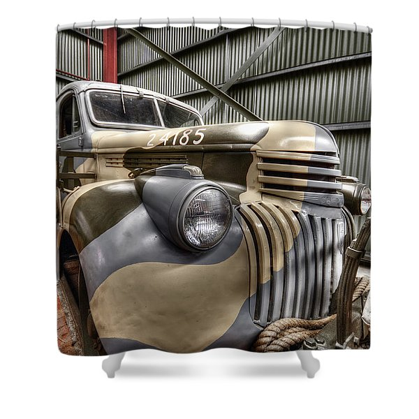 Ready To Roll Shower Curtain by Wayne Sherriff