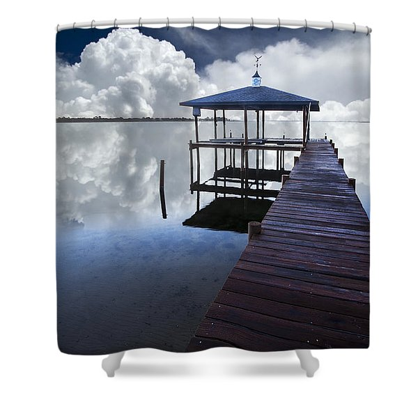 Reflections Shower Curtain by Debra and Dave Vanderlaan