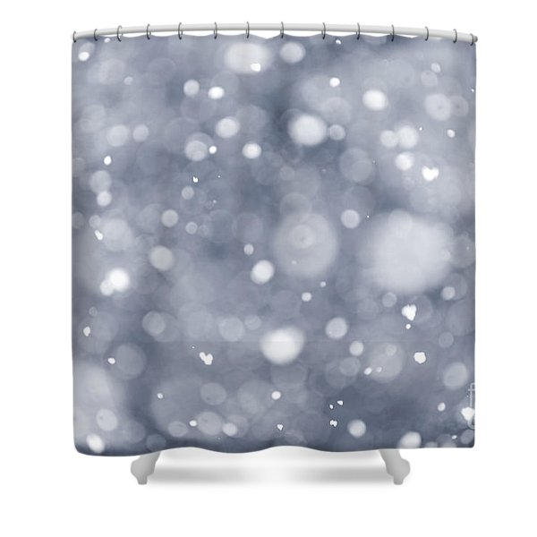 Snowfall  Shower Curtain by Elena Elisseeva