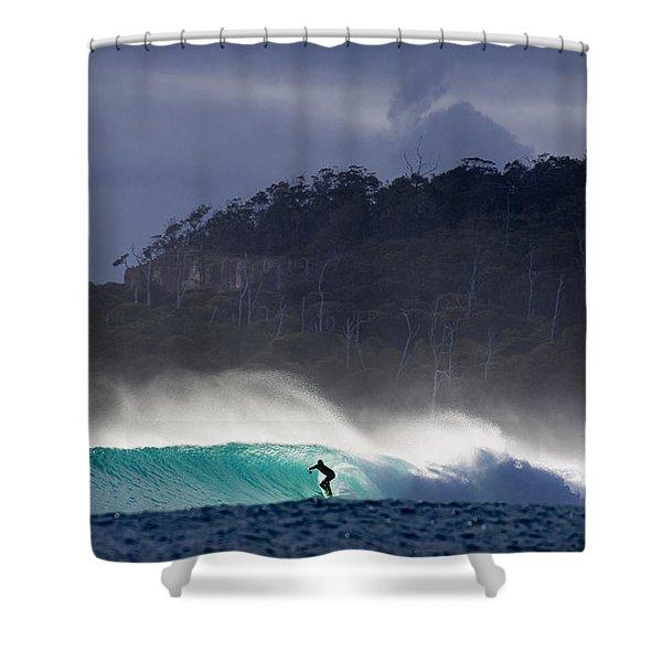 Tasmania Dream Shower Curtain by Sean Davey