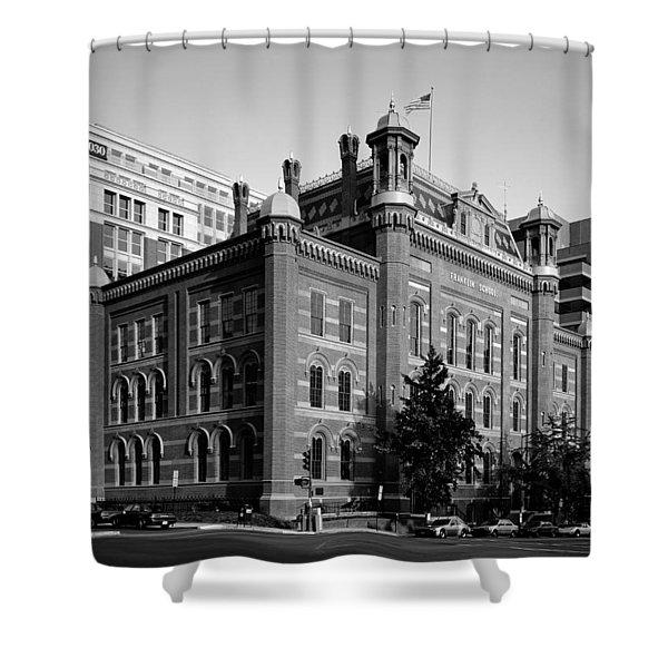 The Franklin School - Washington DC Shower Curtain by Mountain Dreams